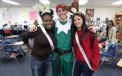 Students dress up as holiday characters
