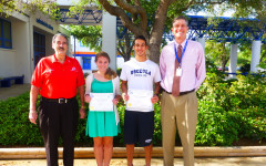 Elks Club students of the month – January