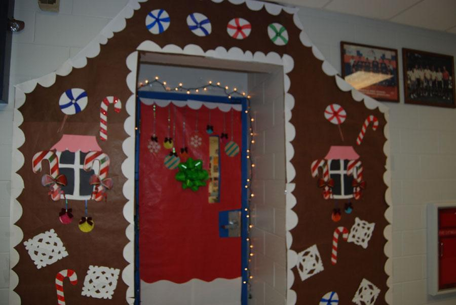 Classroom entryways get holiday makeovers