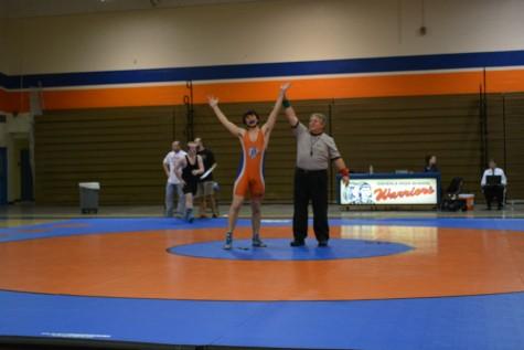 Warrior wrestlers wrangle a win