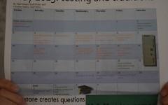 Change to exam schedule
