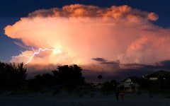 Florida weather affecting education