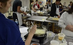 Culinary club cooking up concoctions