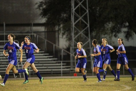 Girls' soccer winds up successful season