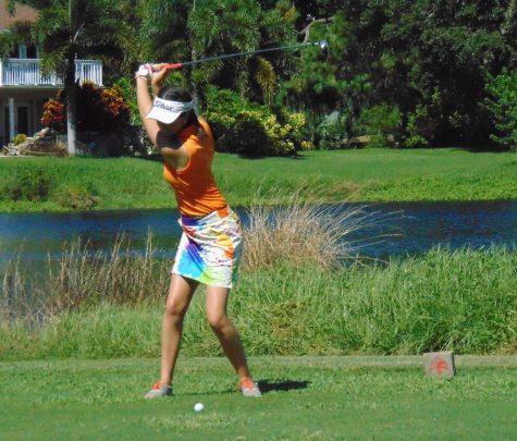 Warrior girl golf begin the season with a win