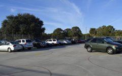 Sophomore parking fills up