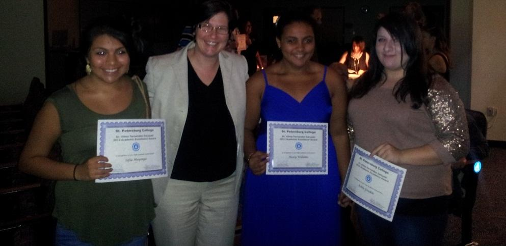 Hispanic students honored for achievement