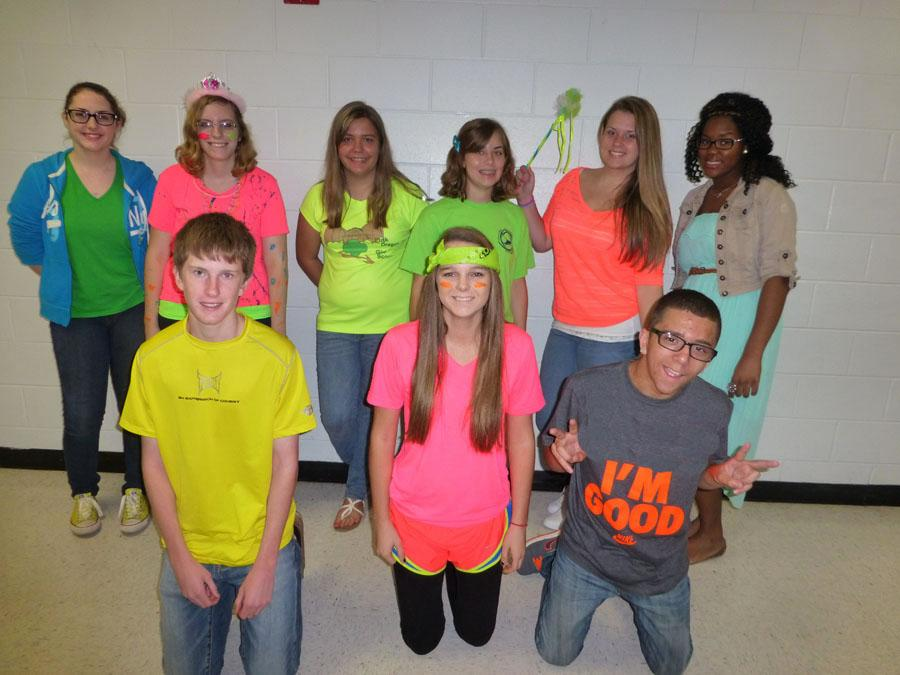 Warriors highlight day with neon clothes u2013 Warrior Record Online