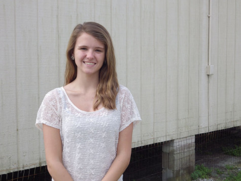 Current Student Government President Madison Russell