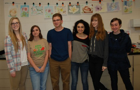 AP art students are looking forward to their show today.