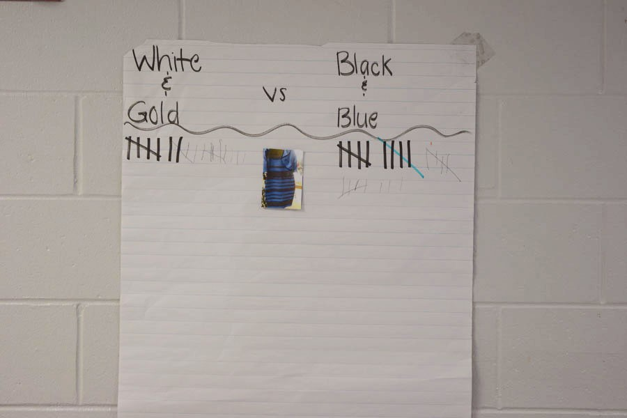 Blue and black or white and gold? The science behind it