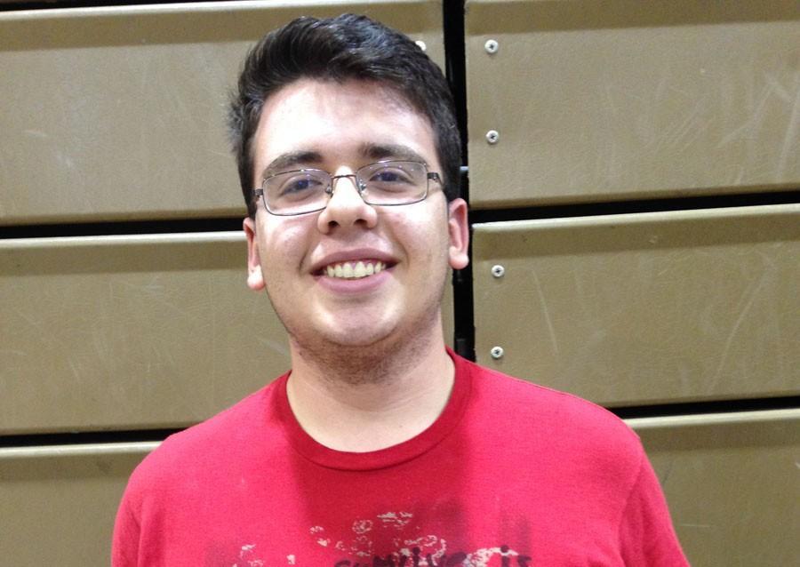 Jared Ramos, winner of Osceola's first Poetry Slam