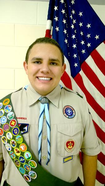 Warrior scout achieves prestigious rank