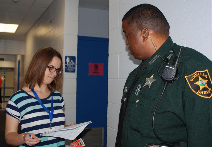 This reporter interviews Deputy Shorter November 19th.