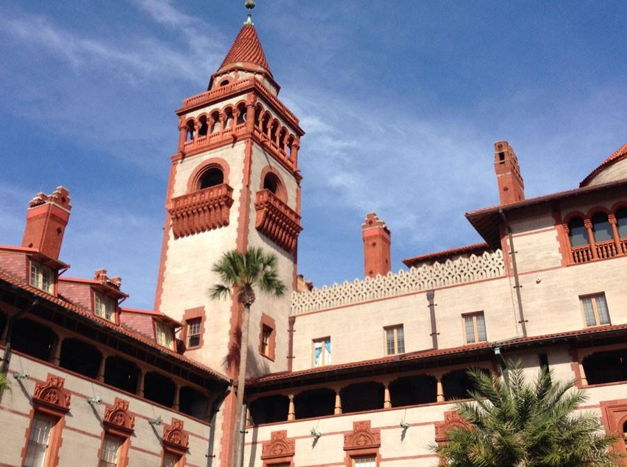 Flagler College in St. Augustine is sometimes on the OFHS College Tour.