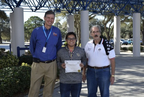 Elks Club names winter students of the month