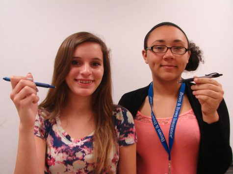 Madison Palmer and Danielle Benson were among eight finalists who were a part of the Stanley Shalit Largo Library Short Story Contest.