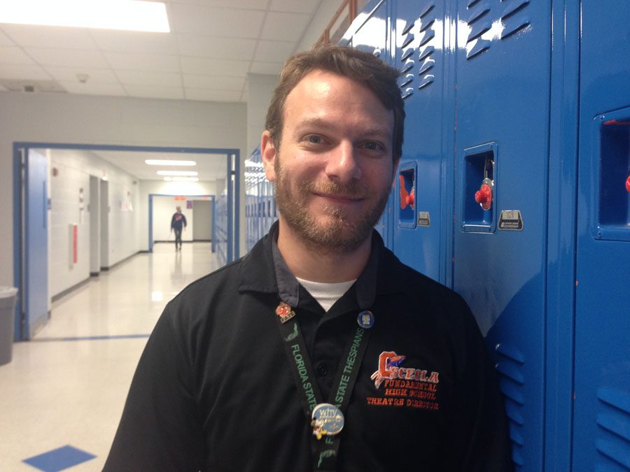 Theatre teacher and director of The Tempest, Mr. Pace.