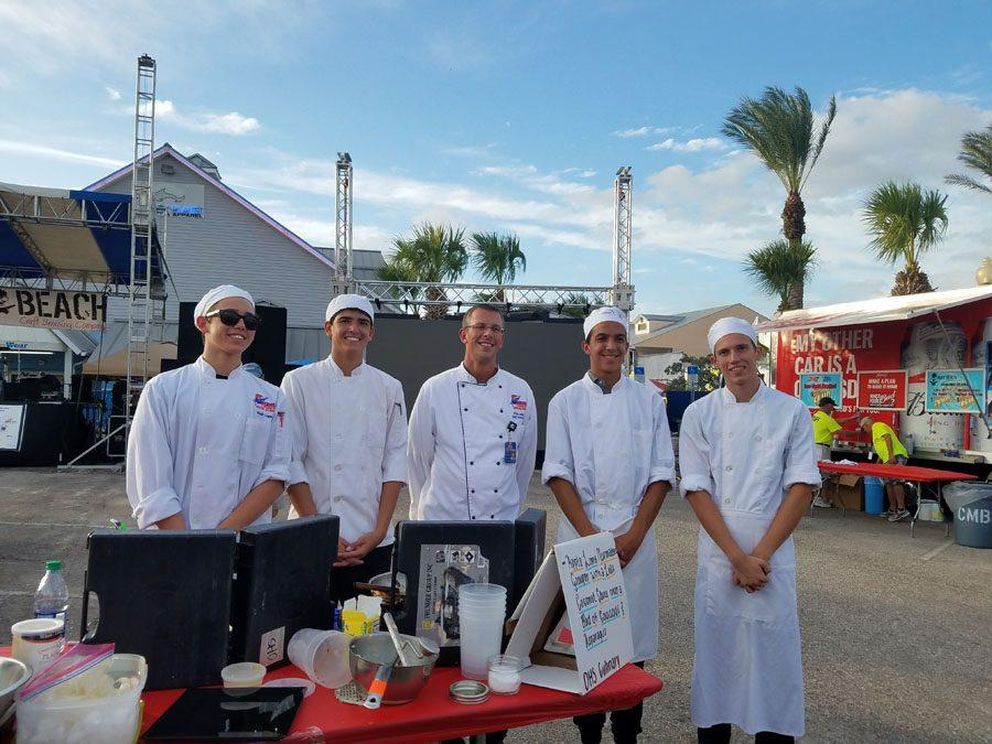 Culinary students cook up at storm at John's Pass Sea Food Festival