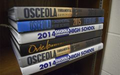 These are previous yearbooks from OFHS.  The 2018-19 yearbook just received an Honorable Mention in the Balfour national publication,