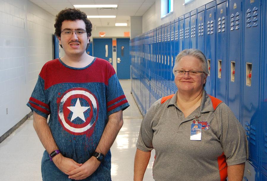 A-Team Captain Jason and Adviser Ms.  Alvarez say the team placed 4th in county.