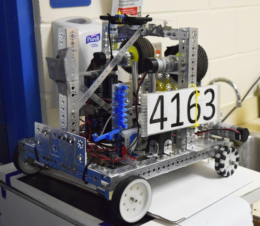This year's robot will be dismantled in preparation for a new design next year.