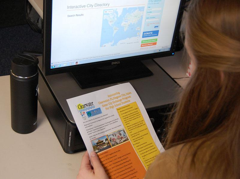 Students can get the information from a foreign language teacher.