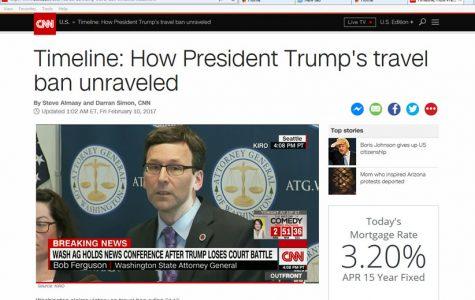 Trump's ban creates conversation