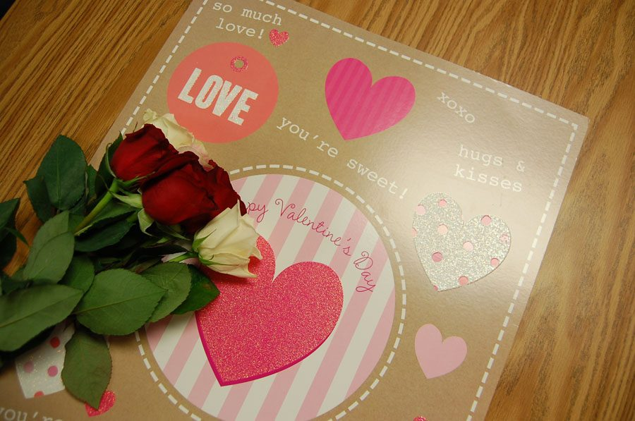 This card and flowers are other popular gifts that are associated with Valentine's Day.
