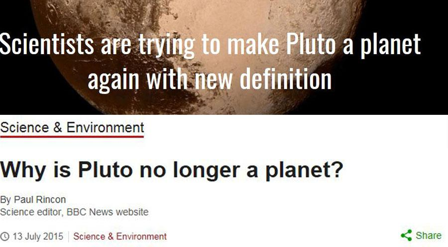 After almost 11 years of controversy towards the demotion of Pluto, the story takes another turn.
