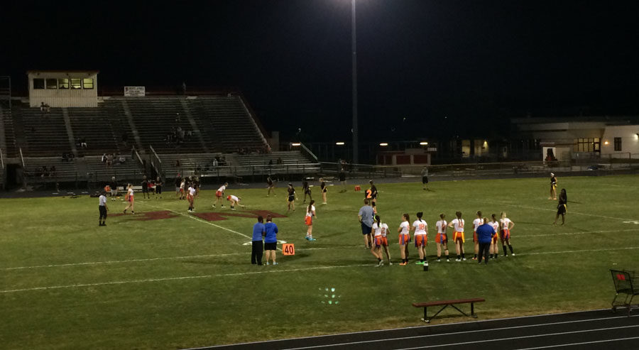 Varsity girls beat Northeast Wednesday night on Northeast's turf.