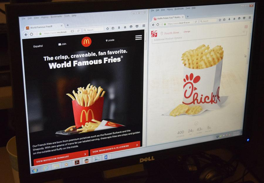 McDonald's is not as unhealthy as you might think when compared to Chick-fil-A fries.