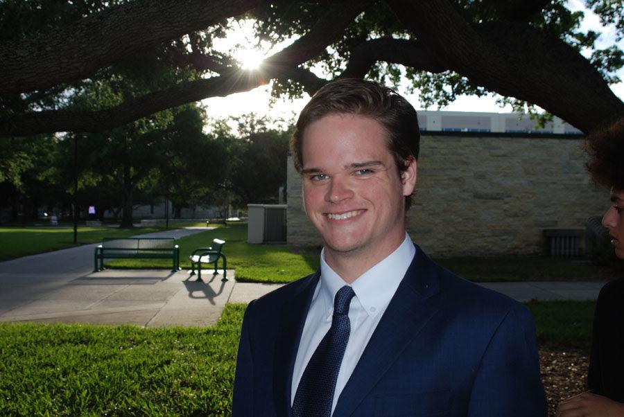 Oliver Allen, 12th grade, also participated in Model UN.