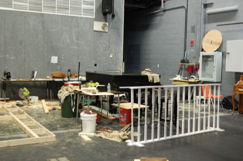 "Sets being built for ""Little Women"""