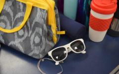 Did anyone lose sunglasses ?