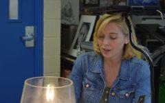 Art teacher takes over class