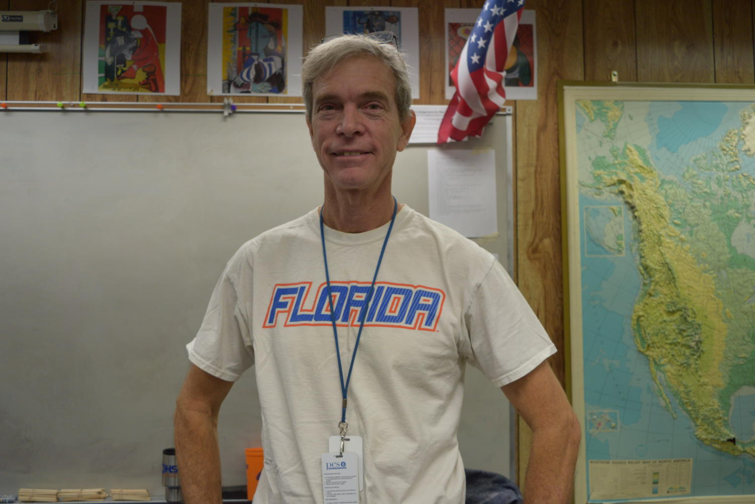 Mr. Pile is a Florida fan.