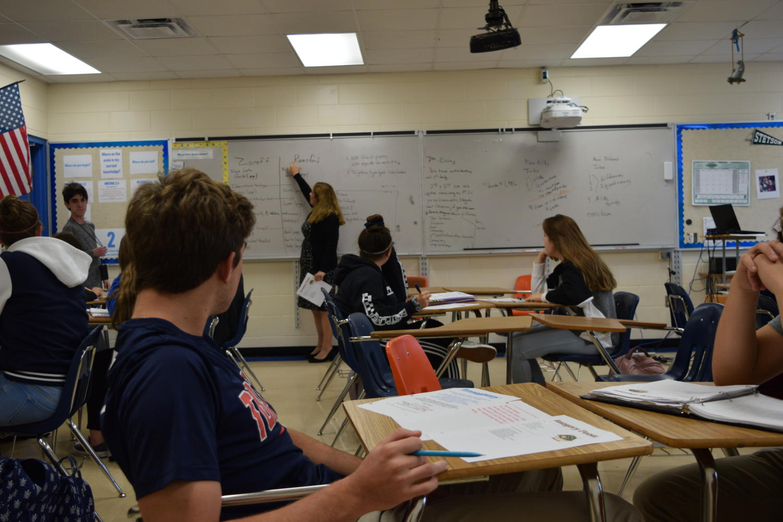 Ms. Schuck teaches English 1.