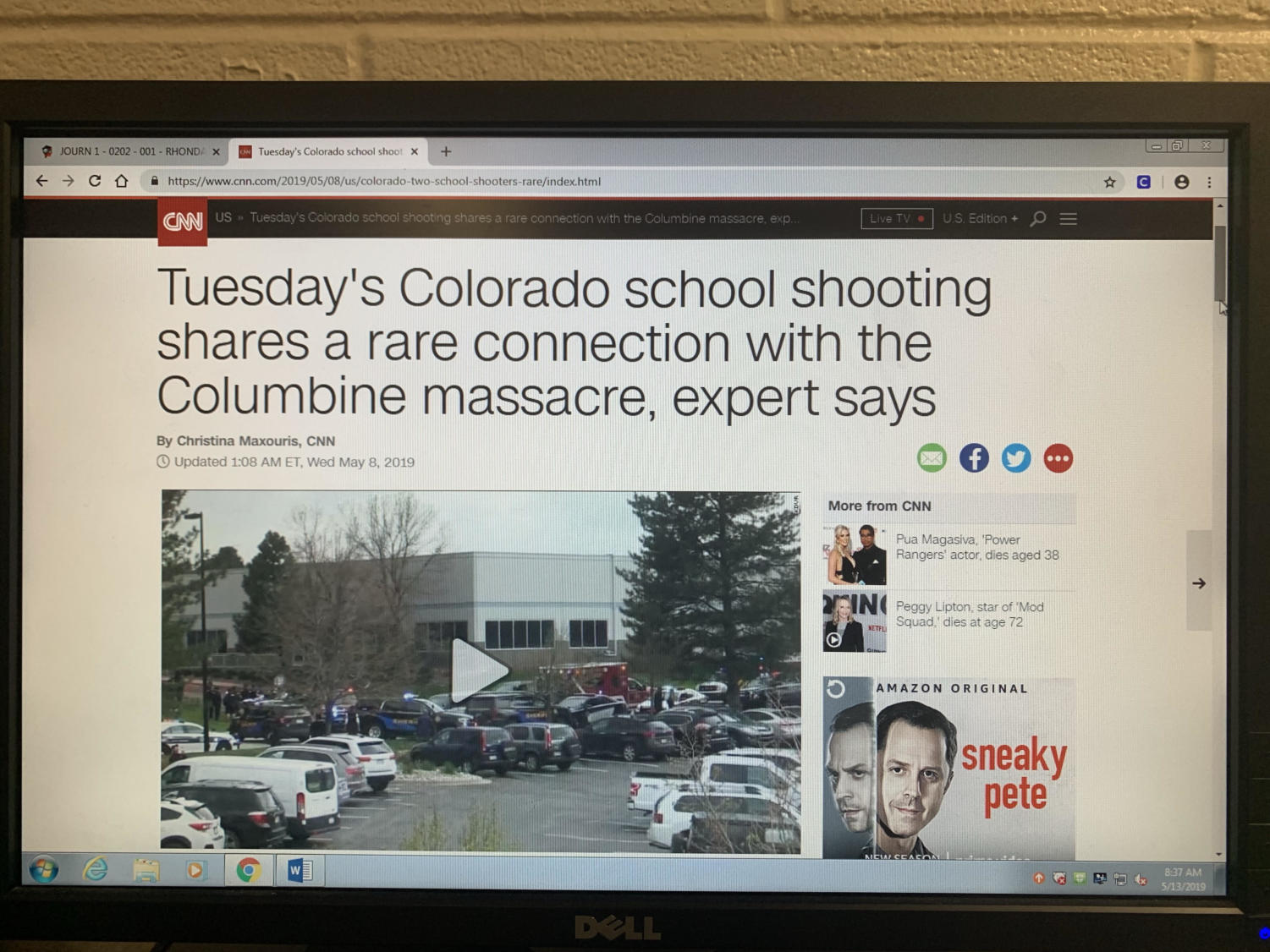 CNN reports on the tragic events that took place in Colorado on May 7th.