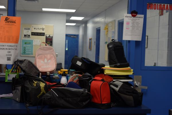 These are just a few of the items that are found in the lost and found.