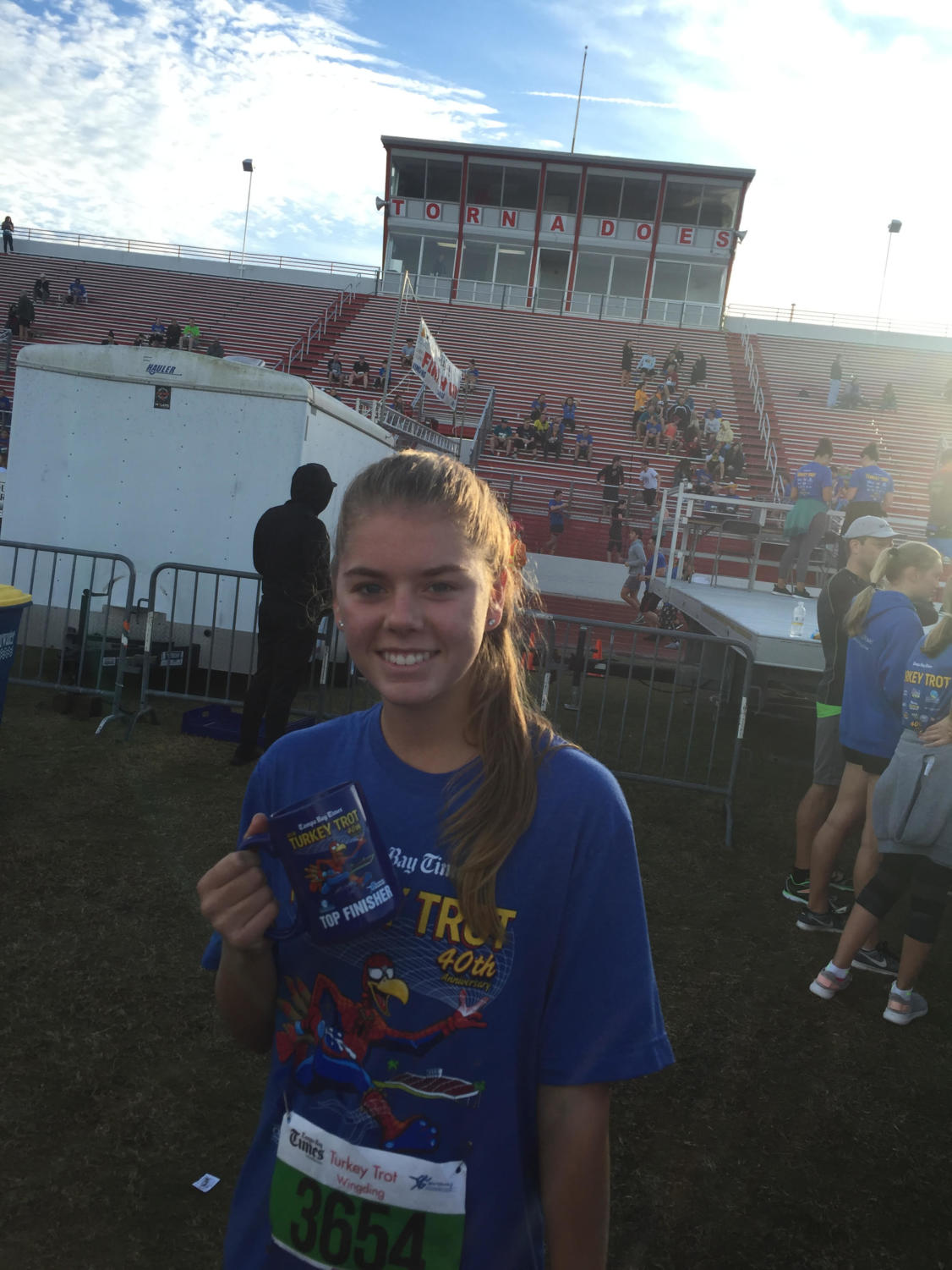 Brooke McGowan is a top finisher in one of last year's races.