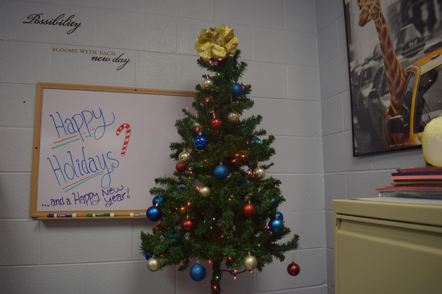 Many students are ready and excited for the holidays.