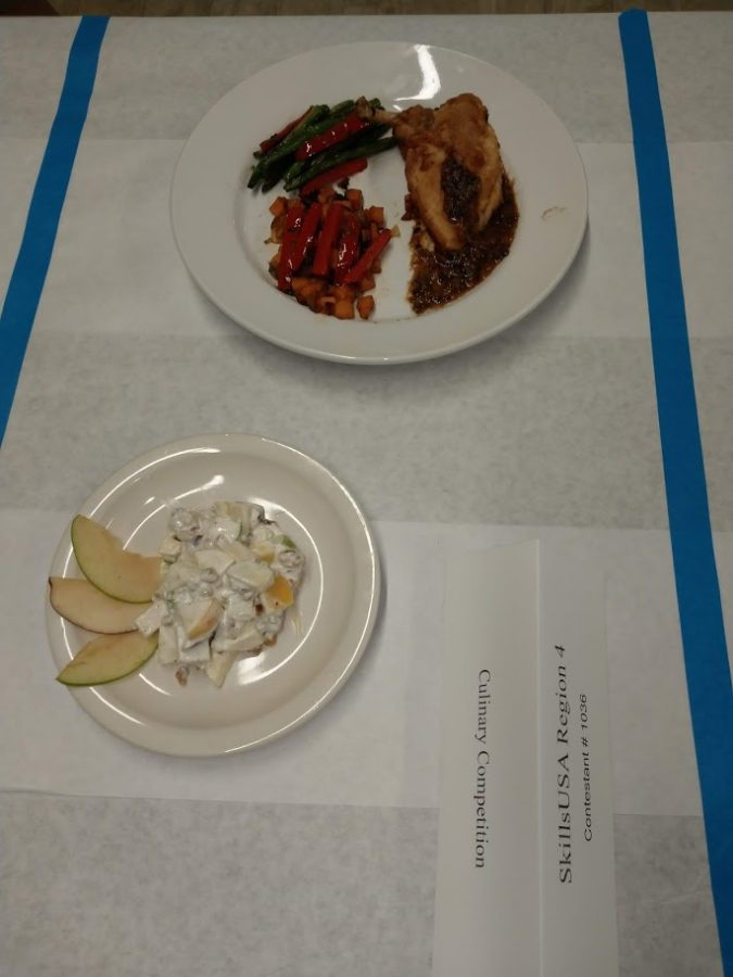 Warrior whips up a win at Culinary competition