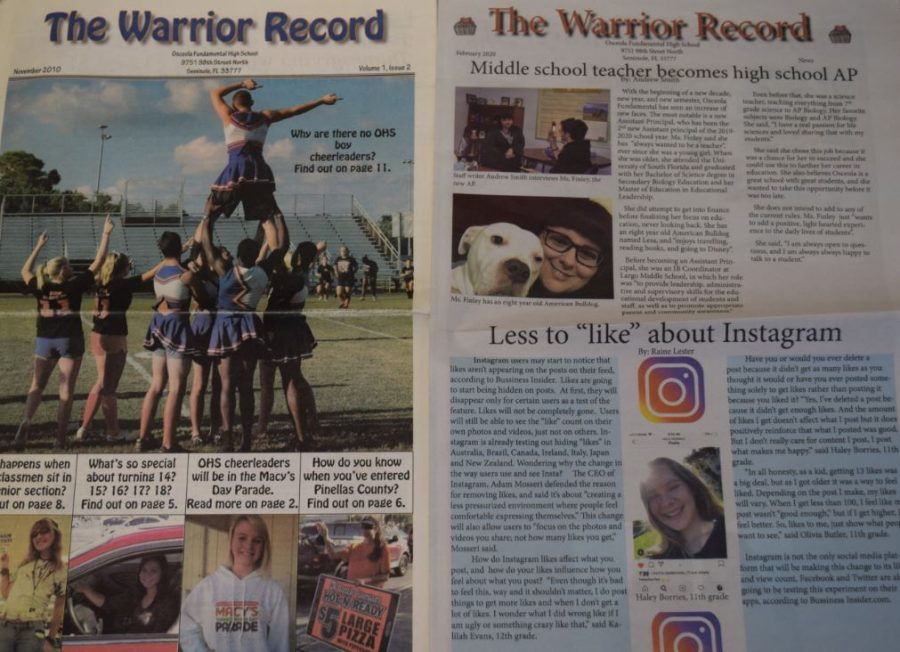 The+Warrior+Record+2010+April+edition+and+the+2020+February+edition+have+some+similarities.