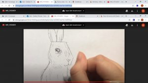 Cassie shows you how to draw this adorable bunny in time for Easter.