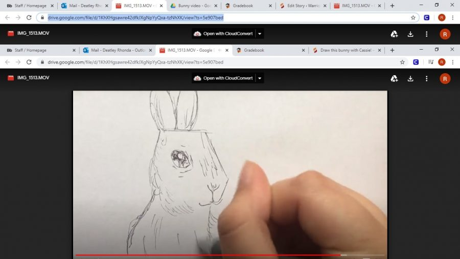 Cassie+shows+you+how+to+draw+this+adorable+bunny+in+time+for+Easter.