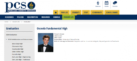 This is the page where the Valedictorians and Salutatorians are found.