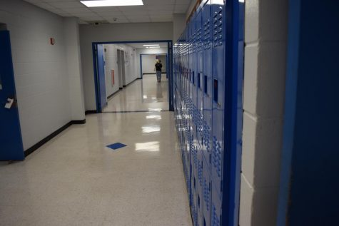 The halls are much emptier this year.  Due to Coronavirus, exam exemptions will not depend on attendance.