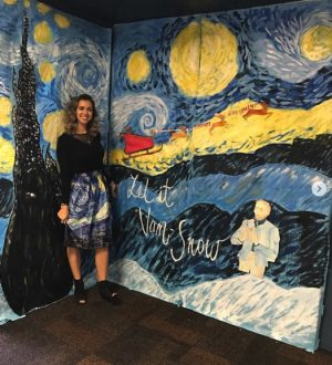 Ms.  Guccione hopes to paint a new future with Warriors