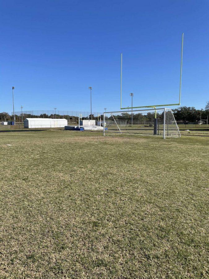 The varsity boys soccer team at Osceola has won the PCAC 3 years in a row.